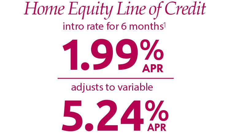 199 home equity line of credit
