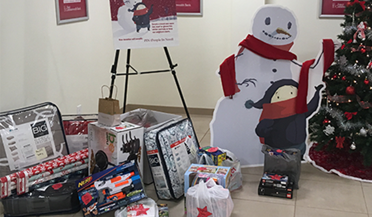 Toy donation collection image