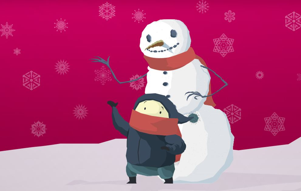 Image of Bailey and the Snowman