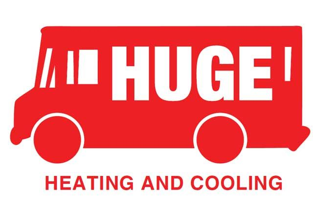Huge Heating Logo