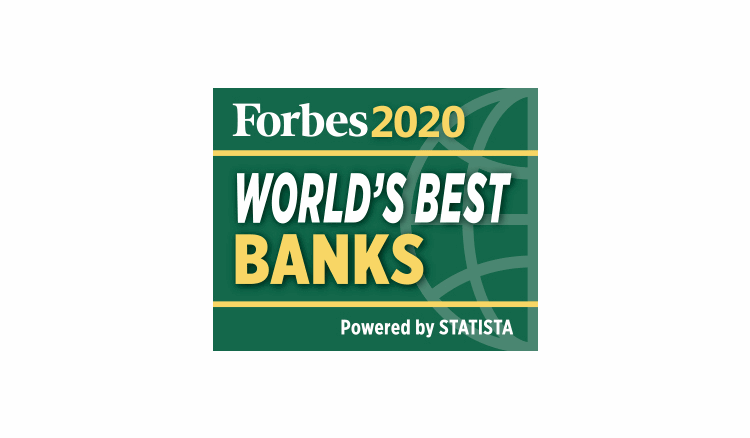 Forbes 2020 World's Best Banks