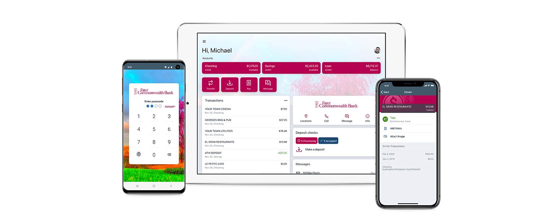 Online Banking - Internet Banking - eBanking | First Commonwealth Bank