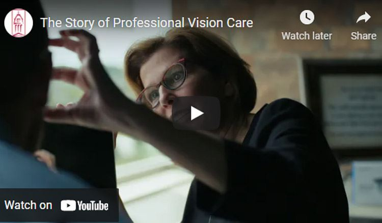 professional vision care interior